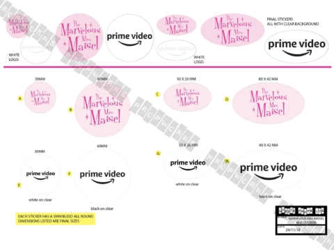 MMM Box Stickers